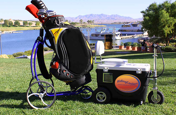How to build motorized cooler for Motor cooler on wheels